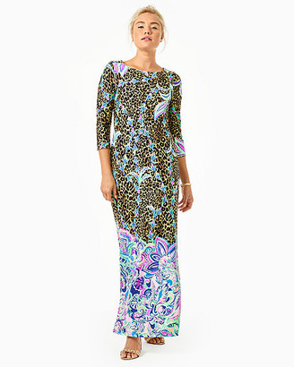 Lilly Pulitzer UPF 50+ ChillyLilly Seraline Maxi Dress