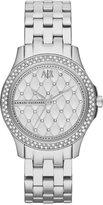 |A|X Armani Exchange Watch, Women's Stainless Steel Bracelet 36mm AX5215