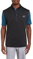 adidas Men's Climaheat Quarter Zip Vest