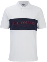Billionaire Boys Club Men's Monaco Polo Shirt White/Navy