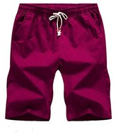 Wicky LS Men's Breathable Cotton Drawstring Wasit Beach Shorts M