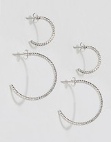 Pieces Hannah Multipack Hoop Earrings