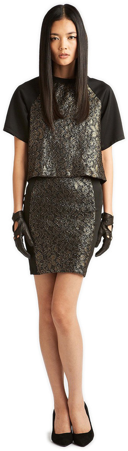 Torn By Ronny Kobo Niva Lace Top