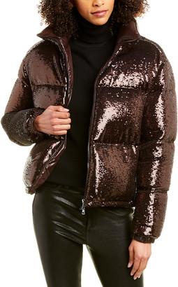 Moncler Rimac Sequin Down Jacket