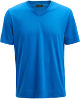 Joseph Mercerized Jersey V Neck Tee