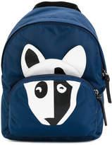 Dolce & Gabbana dog appliquéd backpack