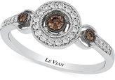 LeVian Le Vian Chocolatier® Diamond Ring (1/4 ct. t.w.) in 14k White Gold