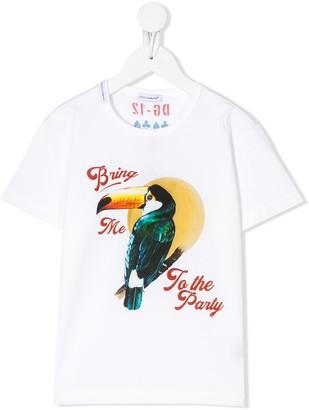 Dolce & Gabbana Kids DG-12 print T-shirt