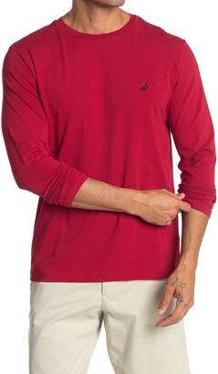 Nautica Long Sleeve Crew Neck T-Shirt