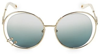 Chloé Wendy 59MM Round Sunglasses