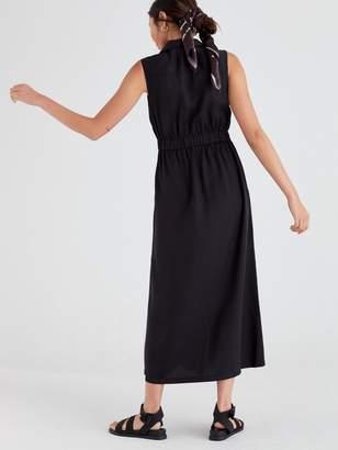 Very MidaxiUtility Dress - Black