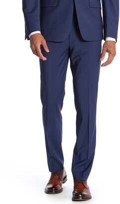 Calvin Klein Twill Blue Skinny Fit Suit Separate Pants