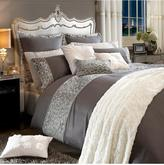 By Caprice Animale Sequin Duvet Cover - Silver/Grey
