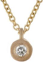 Tate Women's White Diamond Pendant Necklace-YELLOW, NO COLOR