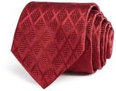 Armani Collezioni Tone on Tone Diamond Classic Tie