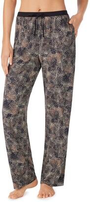 Donna Karan Abstract Print Lounge Pants