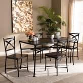 Baxton Studio Josie Dining Table & Chair 5-piece Set