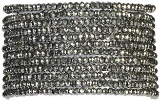 "Millianna Micro Cuff Bracelet 1"" - Antique Silver"