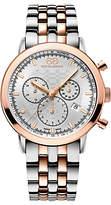 88 Rue du Rhone 87WA154204 Men's Double 8 Origin Rose Gold Plated Stainless Steel Bracelet Strap Watch, Silver/Rose Gold