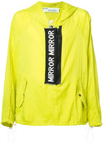 Off-White Mirror Mirror anorak jacket - men - Polyamide - XS