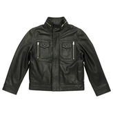Christian Dior Black Leather Jacket coat
