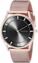 Skagen Women's SKW2378 Holst Rose Gold Mesh Watch
