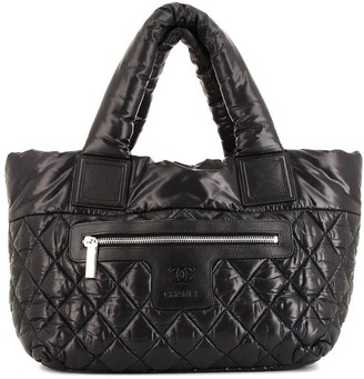 Chanel Pre Owned Coco Cocoon diamond quilted tote bag