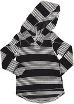 Erge Hoodie (Toddler/Kid)-Black/White-5