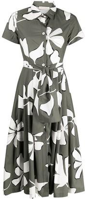 Gentry Portofino Floral-Print Dress
