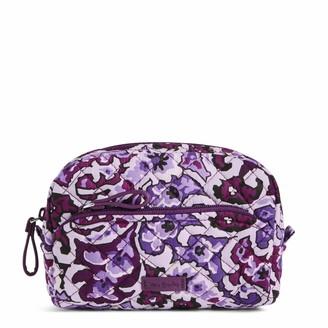 Vera Bradley Women's Signature Cotton Mini Cosmetic Makeup Organizer Bag
