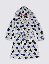 Marks and Spencer Star Print Dressing Gown (1-16 Years)