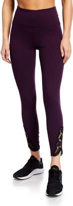 Nanette Lepore Play Dress Me Up Lace 7/8 Leggings