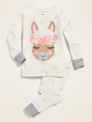 Old Navy Alpaca-Graphic Pajama Set for Toddler Girls & Baby