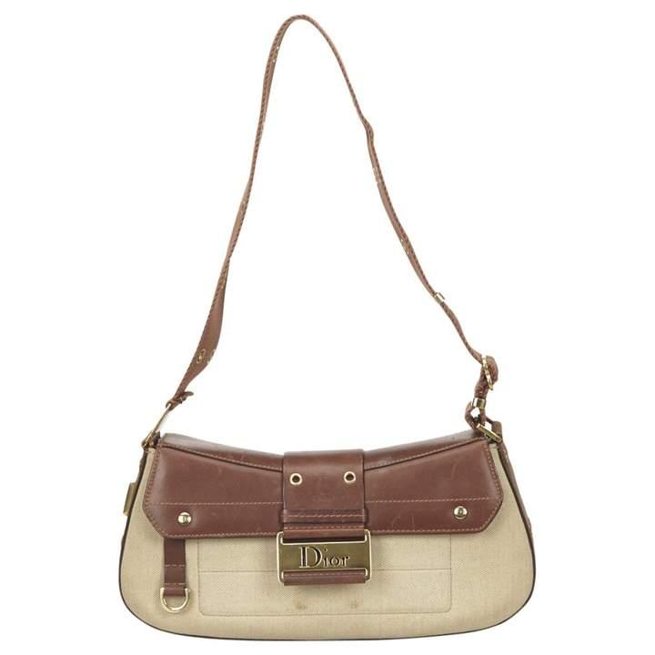 Christian Dior Avenue leather handbag