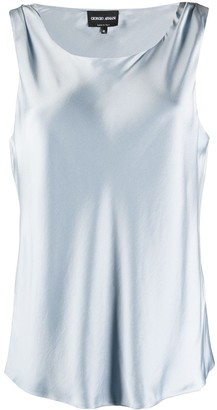 Giorgio Armani Silk Tank Top
