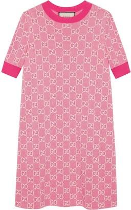 Gucci GG jacquard-woven dress