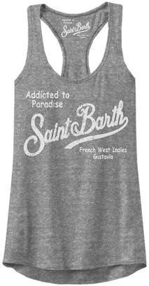 MC2 Saint Barth Tank Top Saint Barth Logo