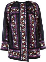 Isabel Marant Driest Tribal Coat