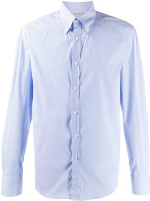 Brunello Cucinelli Striped Tailored Shirt