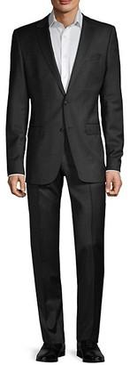 HUGO BOSS Travel Slim-Fit Stretch Wool Suit
