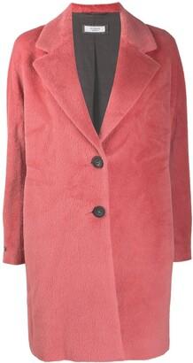 Peserico Brushed Single-Breasted Coat