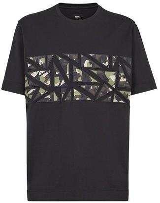 Fendi Black cotton T-shirt