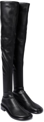 Proenza Schouler Faux leather over-the-knee boots