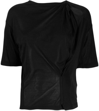 Unravel Project lightweight knitted T-shirt