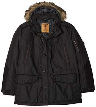 S'Oliver Big Size Men's 28.810.51.5301 Jacket, (Black 9999), XXXL