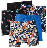 Hanes Boys' 5-Pack Assorted Print Boxer Briefs