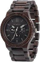WeWood watch Wood / wood multi-function KAPPA BLACK 9818029 Men's [regular imported goods]