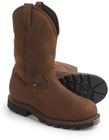 """Justin Boots 11"""" Stag Gaucho Work Boots - Insulated, Composite Safety Toe, Leather (For Men)"""