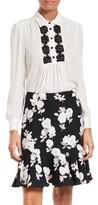 Kate Spade Women's Daisy Lace Silk Shirt