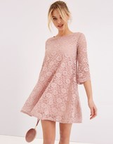 Girls On Film Lace Swing Dress